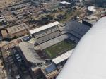 Overflying Kyle Field - home of the Fightin' Texas Aggie Band!